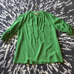 Banana Republic silk blouse.